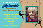 Personalised Wall / Rock Climbing Birthday Party Invites inc envelopes RC1
