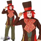 Adults Mens Mad Hatter Alice Halloween Book Week Fancy Dress Costume Outfit Hat