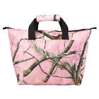 Realtree Pink Camo Cooler Tote Bag, Camoufalge Picnic Insulated Lunch