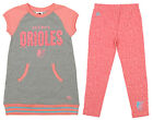Majestic MLB Little Girls Baltimore Orioles Cheer Loud Legging Set, Pink on Ebay