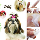 Soft Finger Toothbrush Pet Dog Dental Cleaning Care Hygiene Brush Pets Cat NEW