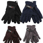 MEN'S FLEECE WINTER GLOVES, GREAT EVERYDAY GLOVES,  NEW, 1ST QUALITY, ADJUSTABLE