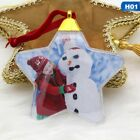 1xChristmas Photo Frame Pendant Tree Picture Hanger Home Party Decor Ornament