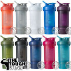 BLENDER BOTTLE ProStak 22oz - 10 Well-built Colors - Shaker Cup with a compartment