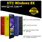 HTC Windows 8X - 16GB - (Unlocked/SIM FREE) Smartphone 1 Year Warranty