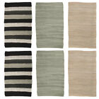 """2pk Chindi Rug 20x32"""" Rag Rug Set Washable Rugs for Living Room Scullery Entryway"""