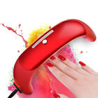 9W Nail Dryer Quick Dry UV LED Lamp for Curing Gel Polish 3 LEDs Nail Art Tools