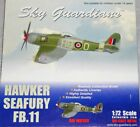 SKY GUARDIANS model aircraft SPITFIRE /P51 MUSTANG /FALCON/ HAWKER SEA FURY 1:72