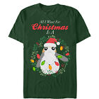 Star Wars The Last Jedi All I Want for Christmas is a Porg Mens Graphic T Shirt $22.95 USD on eBay