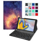 For Samsung Galaxy Tab A 8.0 inch Tablet Case Slim Cover with Bluetooth Keyboard