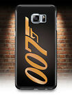 JAMES BOND 007 GOLD PHONE CASE SAMSUNG GALAXY S3 S4 S5 S6 S7 S8 EDGE S9 PLUS $10.47 USD on eBay
