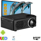 Untra HD 1080P LCD LED Android Smart 3D Home Theater Projector Portable AV USB