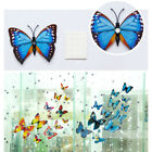 12 PCS of 3D Butterfly Wall Stickers Double Layer Arts Decor Home Room Chic Cute