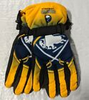 Buffalo Sabres Gloves Big Logo Gradient Insulated Winter NEW NHL Unisex S/M L/XL $17.95 USD on eBay