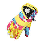 Kids Ski Snow Gloves Windproof Sports Warm Thermal Motorcycle Snowboard Mittens