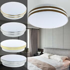 12W Round LED Ceiling Down Flush Mounted Light For Home Fixture Bathroom Living