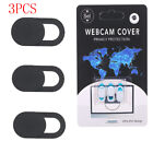 3PCS WebCam Cover Camera Shield Protect Privacy for Mac PC iPhone Laptop H6K4