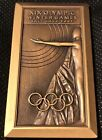 RARE! XIX OLYMPIC WINTER GAMES SALT LAKE UTAH 2002 BRONZE VOLUNTEER MEDAL #70616