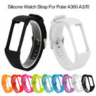 Silicone Replacement Watch Strap Wrist Band For Polar A360 A370 Smart Watch