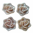 4 Roses Flowers Floating Candles for Wedding Centerpieces Decorations WHOLESALE