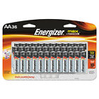 Energizer MAX Alkaline Batteries AA 36 Batteries/Pack E91SBP36H