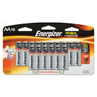 Energizer MAX Alkaline Batteries AA 16 Batteries/Pack E91LP16