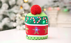 Christmas LED Light Beanie Cap Knitted Hat Xmas Kids Party Decor Warm Gift