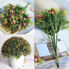Plastic Outdoor Flower Fake false Plants Grass Artificial Garden Home Decoration