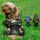 Pet Dog Camouflage Hoodie Coat Jacket Puppy Cat Winter Hooded Costume Apparel