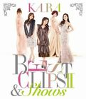 KARA BEST CLIPS II & SHOWS JAPAN Blu-ray First Limited Edition F/S w/Tracking#