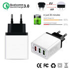 QC3.0 Fast Charging Wall Charger Adapter EU/US Plug Universal For iPhone Android