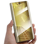 For Huawei P30 P20 Pro/Lite Smart 360° Clear View Case Cover Mirror Flip Stand