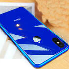 Luxury Phone Case For iPhone XR XS Max 6S 7 Mirror Plating Tempered Glass Cover