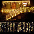 Kyпить 10-100FT Christmas LED Fairy Icicle Curtain Lights Party Indoor Outdoor Decor US на еВаy.соm