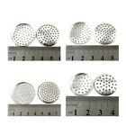 SILVER PLATED SIEVES *4 SIZES* ACCESSORIES BROOCH JEWELLERY DIAMONDS RINGS