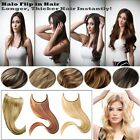 50gr Wire No Clips Flip In Halo Hair Fish Line 100 Remy Human Hair Extensions