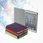 Wake/Sleep Smart Slim Magnetic PU Leather Cover Case for Ipad Min/ZW