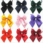 Внешний вид - Women Girls Satin Novelty Neck Bow Tie Formal Bowtie Party Wedding School Office