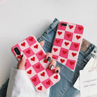 Cute Love Heart Protective Phone Case Cover for iPhone X XSMax XR 6 6S 7 8 Plus