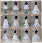 US STOCK Wedding Dress Bridal A Line/Hoop/Hoopless/Crinoline Petticoat/Slips