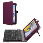 """For Samsung Galaxy Tab A 8.0"""" Tablet Case Folio Cover with Bluetooth Keyboard"""