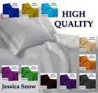 High Quality 4 Piece Bed Sheet Set - Fits Deep Pockets image