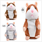 Cute Talking Hamster Repeats Electronic Pet Interactive Toys Gift for Kids UK