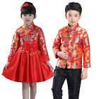 Внешний вид - Children Tang Suit Chinese Traditional Garments Costume For Boy Girl Party Dress