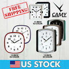 CAMY Large Wall Clock,Modern Large Square Elegant Wall Clock