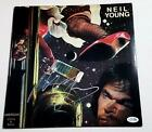 Neil Young Autographed Signed Album Record LP ACOA