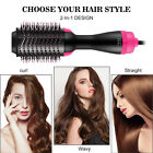2 In 1 One Step Hair Dryer and Volumizer Brush Straightening Curling Iron Comb