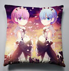 NEW Life in a different world from zero Sofa Pillow Cushion Double Side 40x40CM