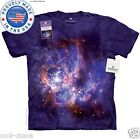 NASA Star Formation T-Shirt/Smithsonian Tie Dye Art Tee,RegionNGC 604,Stargazing
