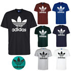 Adidas Mens Short Sleeve Trefoil Logo Graphic T Shirt